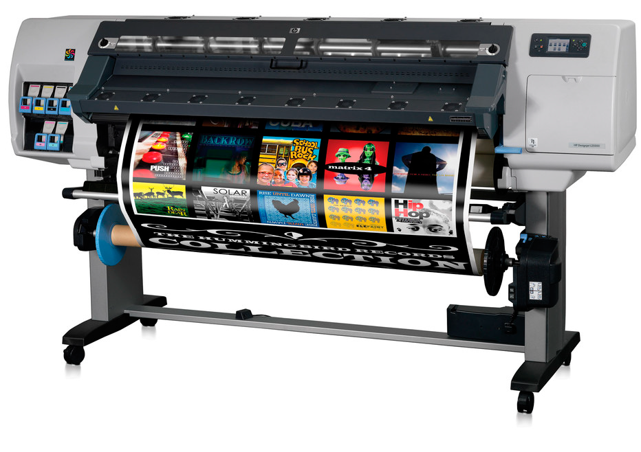 HP Designjet L25500 Printer Repair