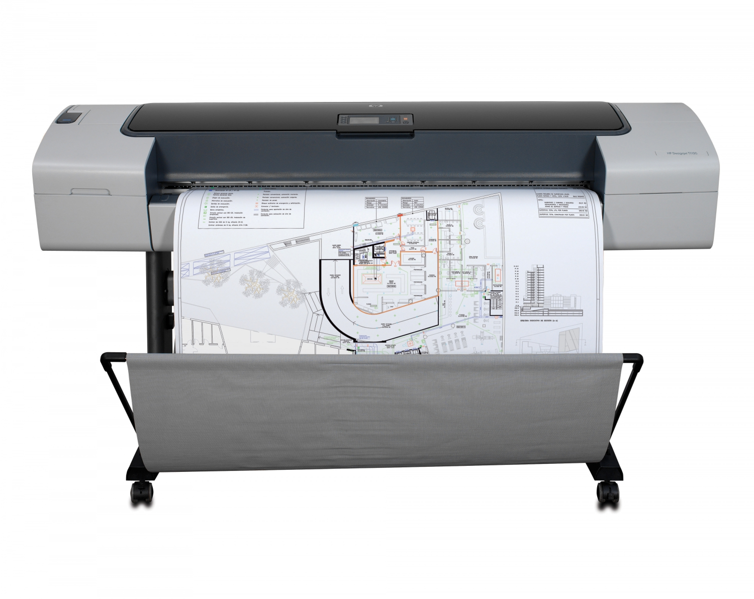 HP Designjet T1100 Plotter Repair